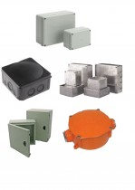ENCLOSURES AND ADAPTABLE BOXES