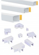 PVC Mini Trunking and fittings