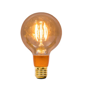 GLOBE 95mm LED VINTAGE 4W ES- DIMMABLE