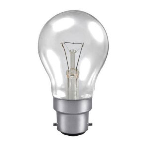 GLS LAMP 60W BC- CLEAR 230V (TRAFFIC)