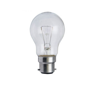 GLS LAMP 100W BC- CLEAR 230V (TRAFFIC)
