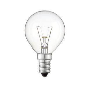 LAMP GOLF BALL 45mm 40WATT SES CLR