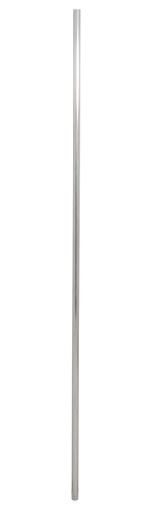 6FT STRAIGHT TV- MAST ALLOY