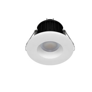 DOWNLIGHT 8.5WATT LED C/W 3 BEZELS