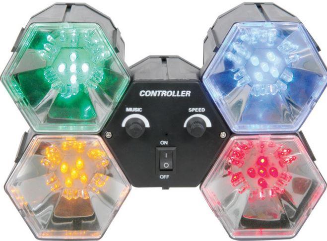 DISCO LIGHT 4-LEDS