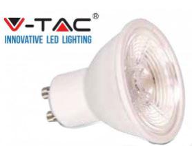 7WATT WARM WHITE LED GU10 LAMP