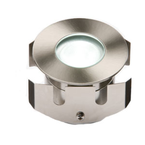 GROUND LIGHT LED STAINLESS STEEL WHITE
