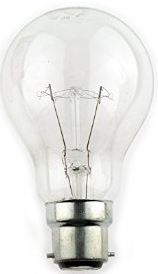 25W 240V CLEAR BC GLS LAMP