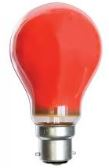 25W RED COLOUR GLS LAMP BC