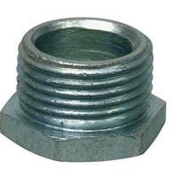 HEX PLUG 25mm GALV
