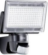 LED PIR FLOOD BLACK