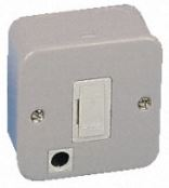 UNSWITCHED M/CLAD SPUR C/W OUTLET