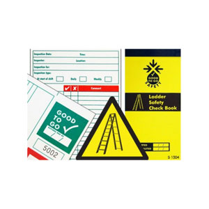 LADDER TAG INSPECTION CHECK BOOK