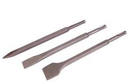 SDS+ CHISEL 3PCE SET 20mm - 40mm - POINT