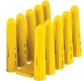 YELLOW RAW PLUG LOOSE Size 4-10 1090600