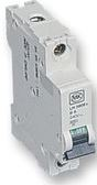 MCB SINGLE POLE 6AMP