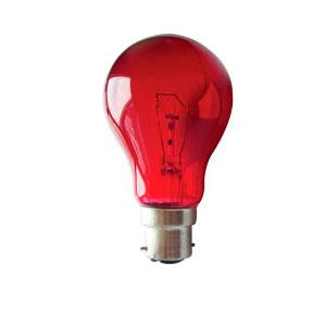 FIREGLOW 60watt BC- LAMP