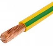 4mm GREEN YELLOW PVC SINGLES