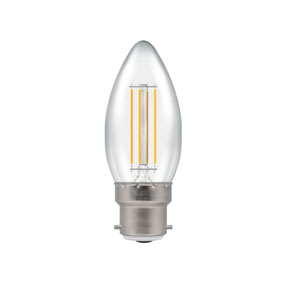 CANDLE LED BC- 5WATT DIMMABLE 2700K