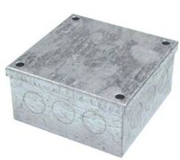 ADAPTABLE BOX 75x75x50mm METAL GALV