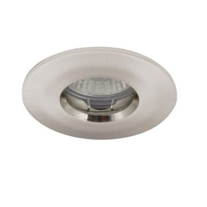 SHOWERLIGHT GU10 SATIN CHROME IP65