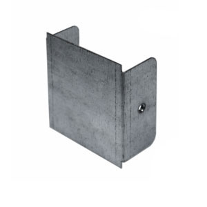 TRUNKING END CAP 3X3 GALV STEEL