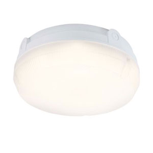 DELTA 14W ROUND LED EMERGENCY BULKHEAD K