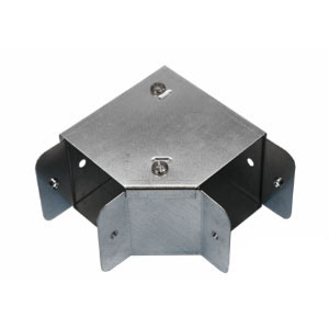 TRUNKING BEND TOP LID 3X3 GALV STEEL