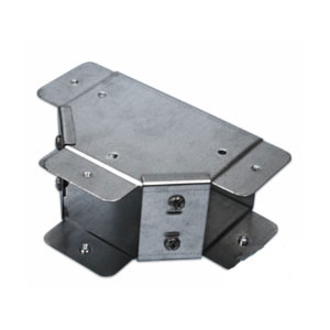 TRUNKING TEE 3X3 TOP FLAT LID GALV
