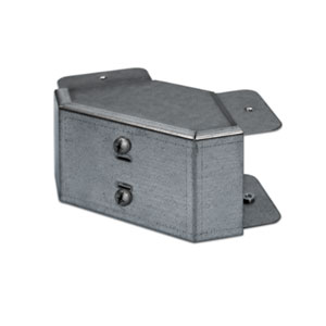 TRUNKING TEE TOP LID FLAT 4X4 GALV