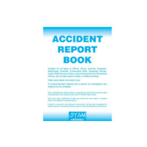 ACCIDENT REPORT LOG BOOK