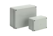 PLASTIC BOX 242x190x90mm GREY