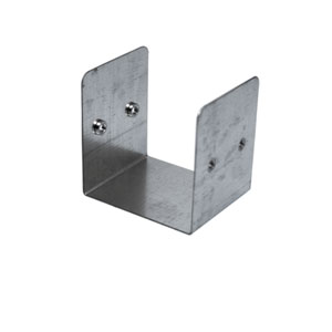 TRUNKING COUPLER 3X3X GALV