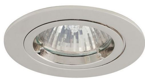 FIXED GU10 DOWNLIGHT CHR
