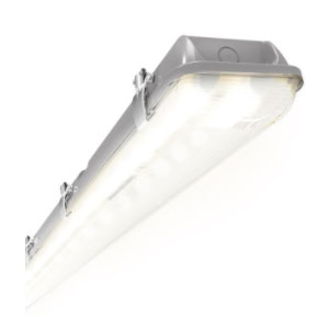 VAPOUR PROOF FITTING LED 4FT 2X20W IP65
