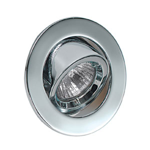 L/V MR11 ADJUSTABLE POLISHED CHROME DWNLIGHT