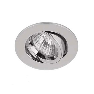 DOWNLIGHT GU10 TILT ADJUST. CHROME