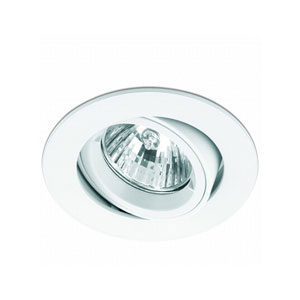 DOWNLIGHT GU10 TILT ADJUST. WHITE
