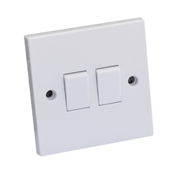2G 2W LIGHT SWITCH * ASTA APPROVED*