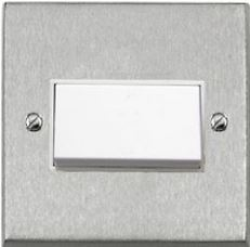 FAN ISOLATOR SWITCH BRUSHED CHROME