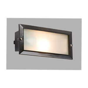 BRICKLIGHT 1X60W ES BLACK