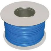 SLEEVING BLUE 4MM ON DRUM