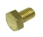 BOLT HEX HEAD BRASS M6X25