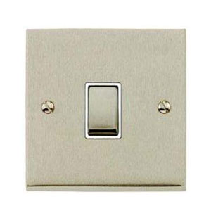 SWITCH 1GANG 2WAY SATIN NICKEL