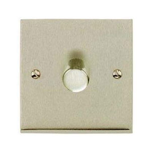 DIMMER 1GANG 2WAY LED 120W SATIN NICKEL