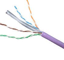 CAT6 DATA CABLE PURPLE LSF