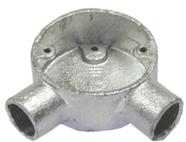 CONDUIT BOX ANGLE 20mm