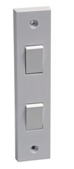 2 GANG ARCHITRAVE SWITCH
