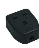 1GANG RUBBER EXTENSION BLOCK BLK