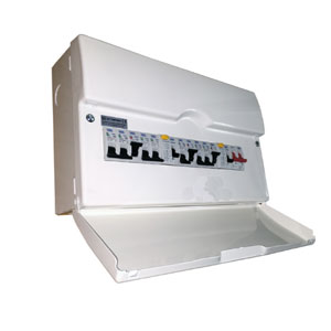CONSUMER UNIT 10WAY METAL - HI INTEGRITY